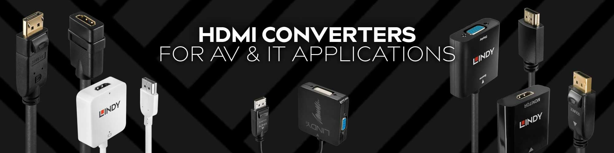 Lindy HDMI Converters