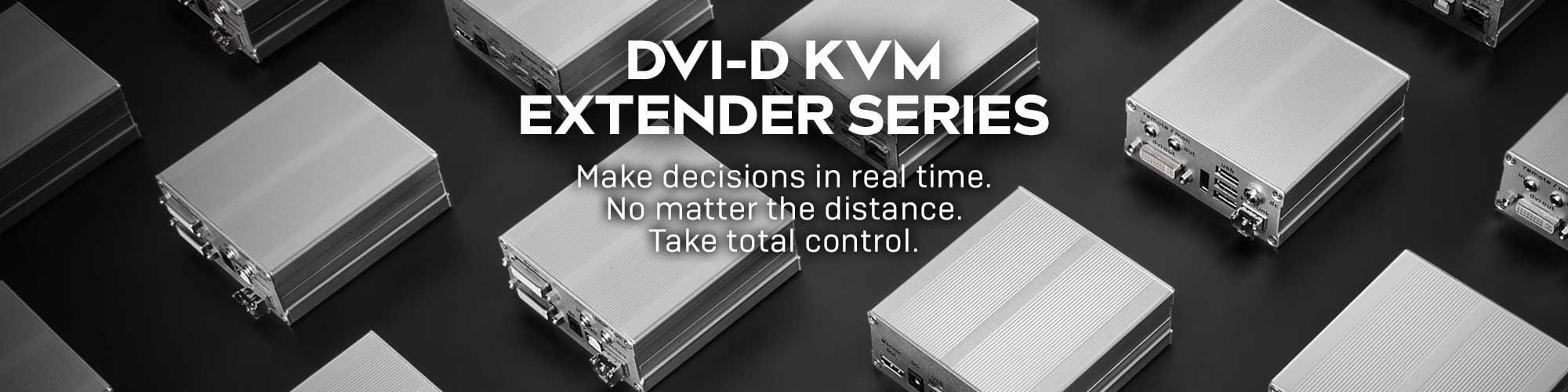 DVI-D KVM EXTENDER SERIES