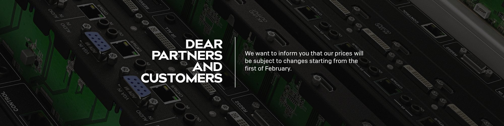 Customer Announcement