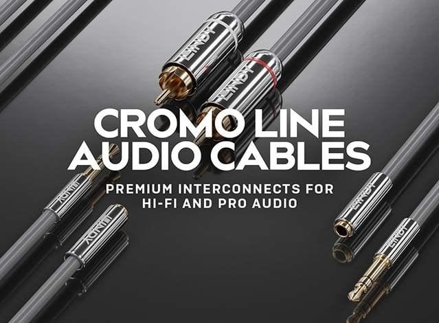 Cromo Line Audio Cables