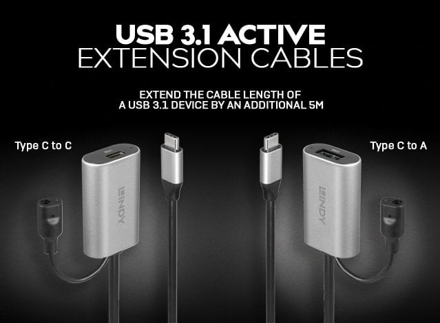 USB 3.1 Active Extension Cables