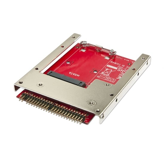 "mSATA to 2.5"" IDE SSD Drive, 7mm"