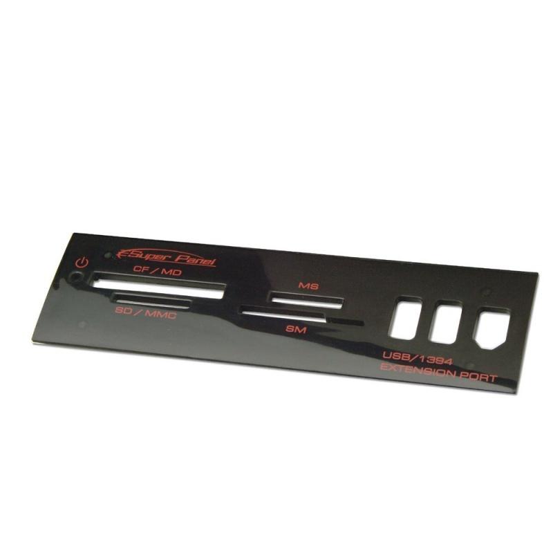 Multi Card Reader 5.25 Panel 2 x USB 2.0 / 1 x FireWire 400