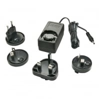 Multi Country Switching AC Adapter - 5V DC, 3A, 3.5mm Outer / 1.35mm Inner DC Jack, Level VI