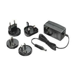 Multi Country Switching AC Adapter - 9V DC, 2A, 5.5mm Outer / 2.1mm Inner DC Jack, Level VI