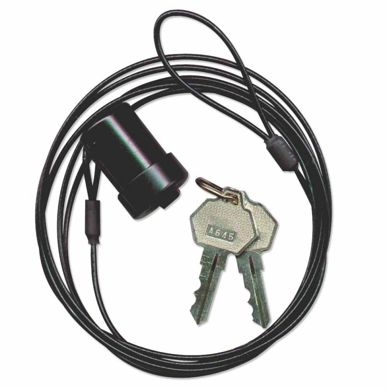 Security Cable For Keyboard : Notebook security cable standard key lock