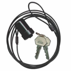 Notebook Security Cable, Standard Key Lock