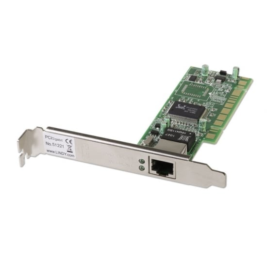 PCI (32 Bit) Gigabit Network Card 10/100/1000Base-TX