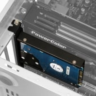 """PCI Backplate Adapter Frame for 2.5"""" Drives"""