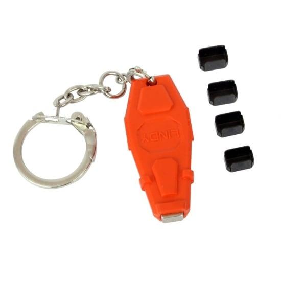 Port Blocker Key With 4x Mini DP / Thunderbolt Port Blockers