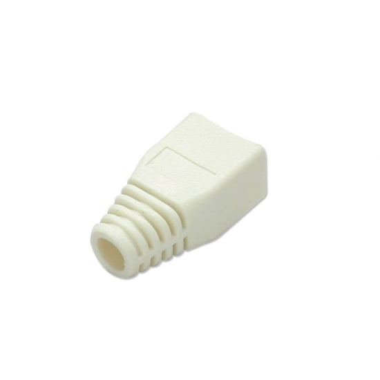 Pre-assembly RJ-45 Strain Relief Boot, Beige (10 per pack)