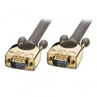 Premium Gold VGA Cable 15 Way HD Male to Male 75m