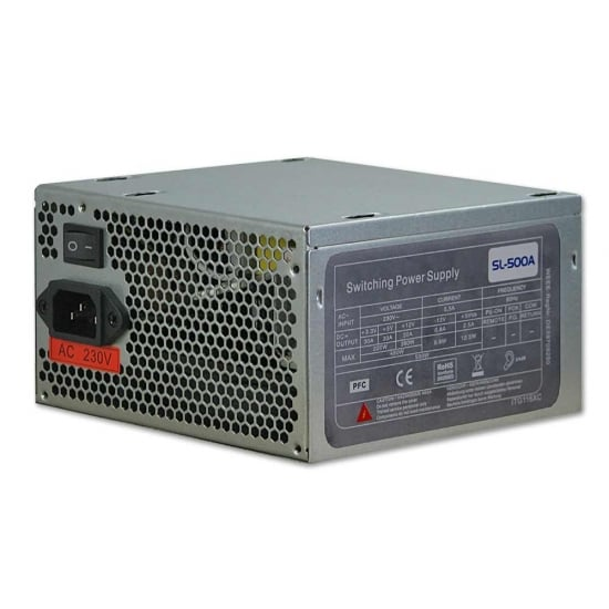 Replacement ATX Power Supply, 500W