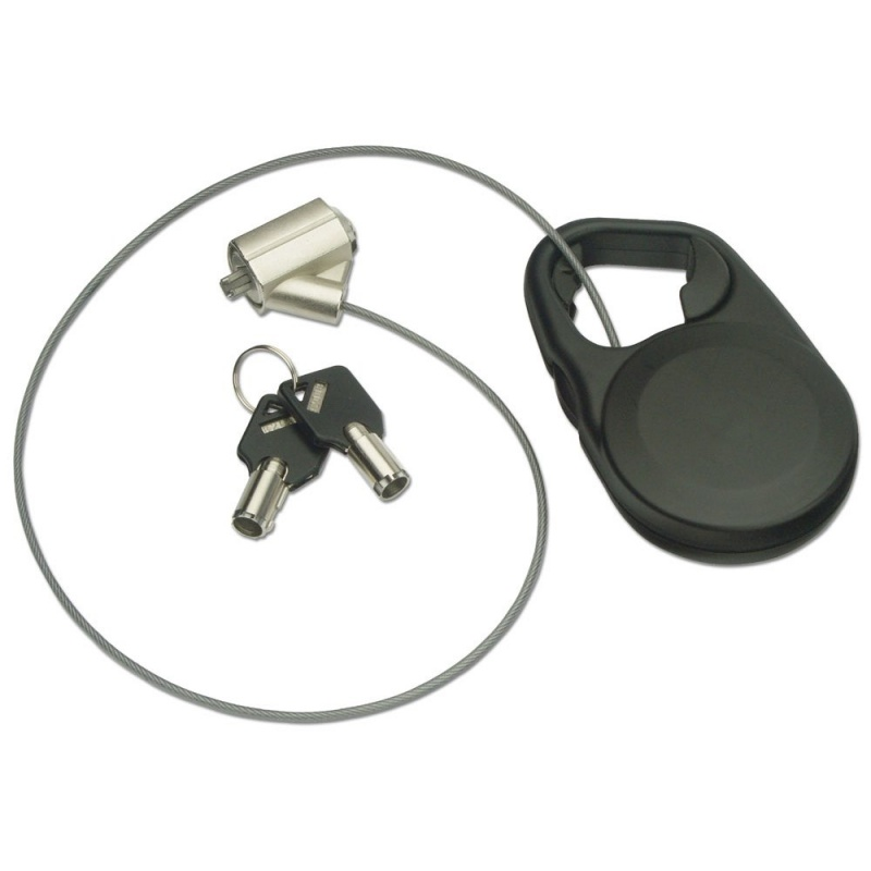 Retractable Security Cable : Retractable notebook security cable from lindy uk