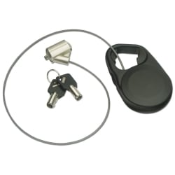 Retractable Notebook Security Cable