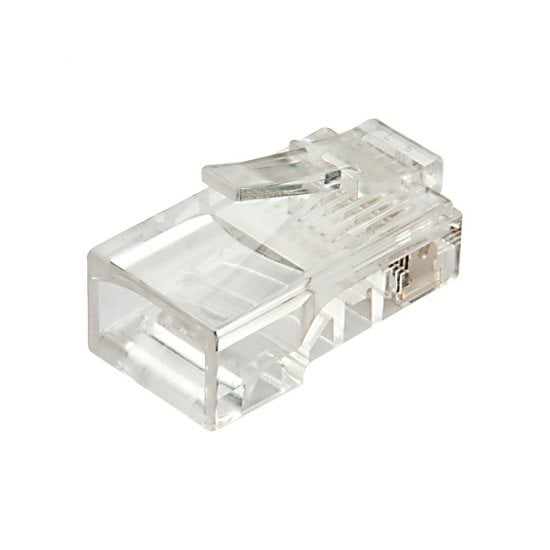 RJ45 Connector UTP Cat. 5e, Pack of 10