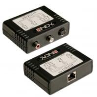 300m CAT5e/6 S-Video + Stereo Audio Extender