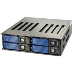 "SAS/SATA Back Plane System for 4 x 2.5"" Hard Drives"