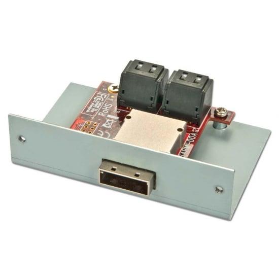SAS/SATA Multilane Adapter Board for SATA Storage