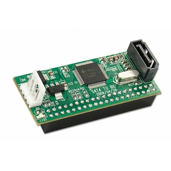 SATA Converter for IDE Hard Drives
