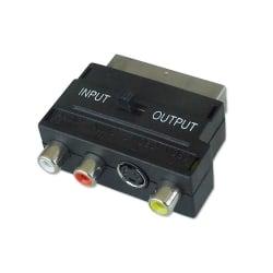 SCART Adapter (S-Video, Composite & Audio)