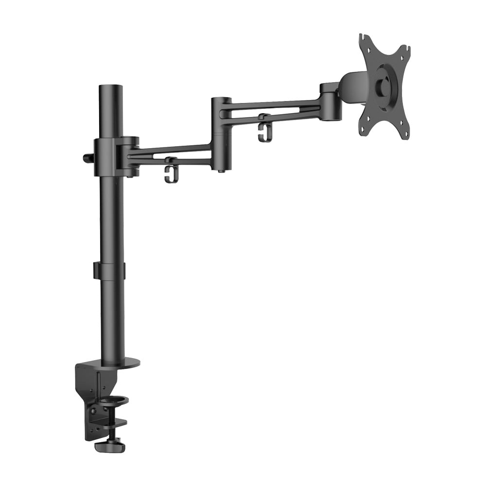 Single Lcd Monitor Arm With Pole And Desk Clamp From