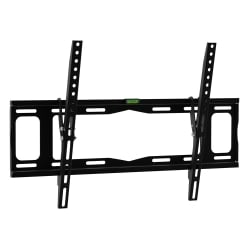 Slim LCD, LED & Plasma TV Wall Bracket Mount For Up To 40kg Screens, Black