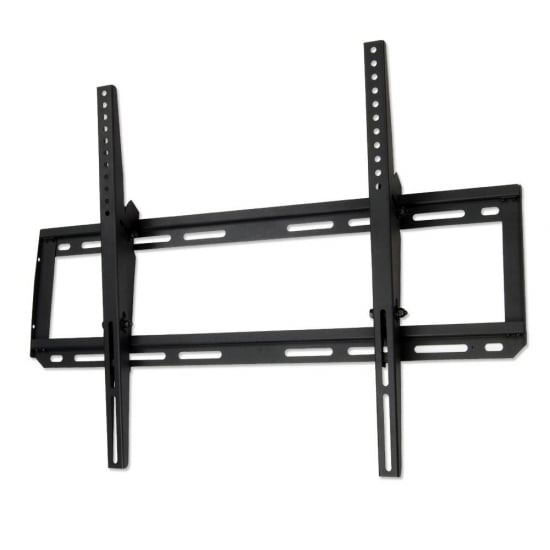 "Slimline LCD, LED and Plasma TV Wall Bracket Mount for up to 70kg / 60"" Screens, Black"