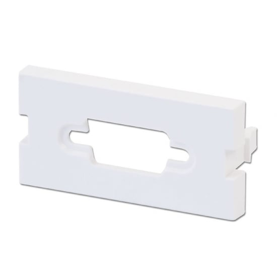Snap-in Blank VGA Block, 4 Pack