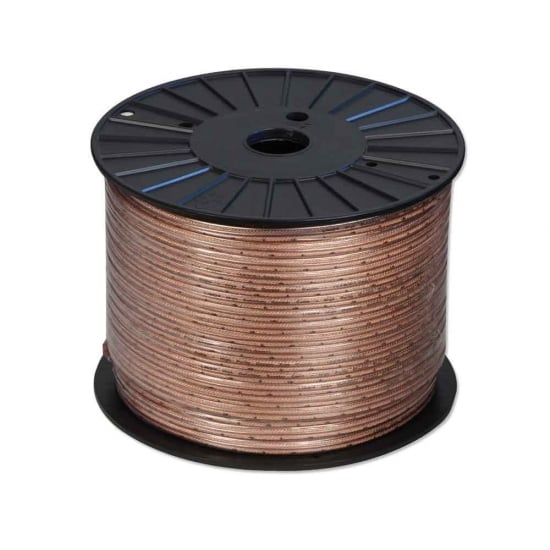 Superior Grade Speaker Cable, 2 x 1.5mm, 100m Reel