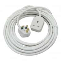 UK 3 Pin Mains Extension Lead, 10m