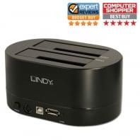"USB 2.0 & eSATA Docking & Cloning Station for 2.5"" & 3.5"" SATA Hard Drives"
