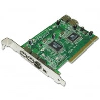 USB 2.0 & FireWire Combo Card, PCI with ULEAD VideoStudio SE Software
