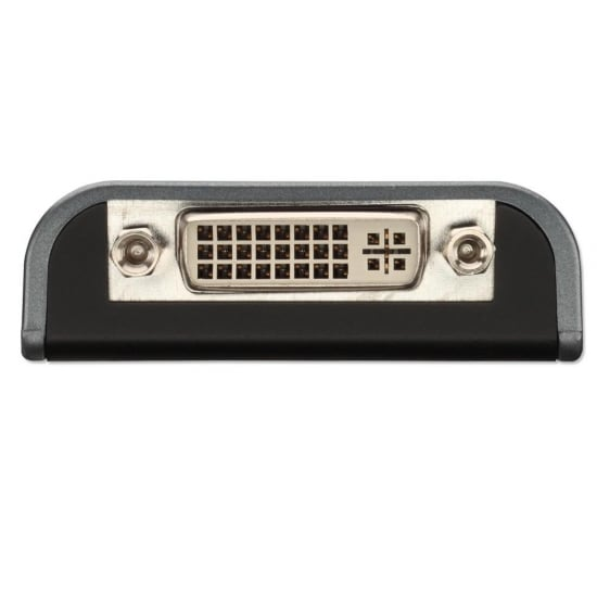 USB 2.0 to DVI-I Adapter Converter