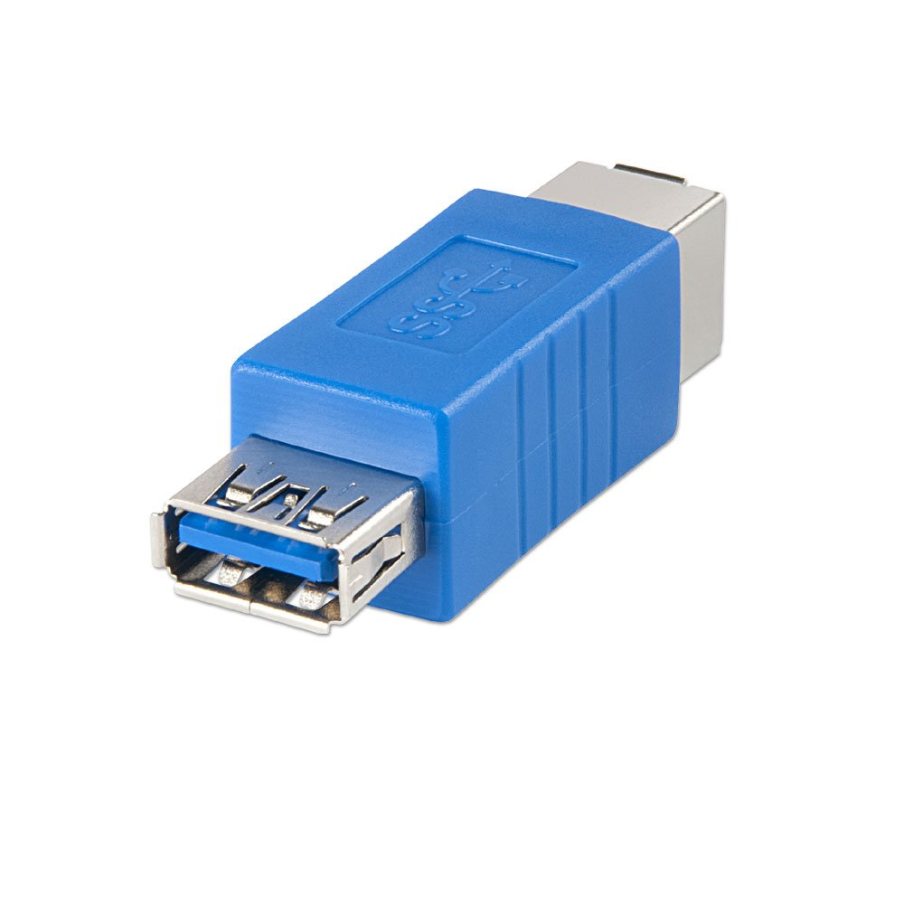 USB 3.0 Adapter, USB A Female to B Female - from LINDY UK