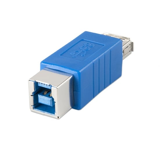 USB 3.0 Adapter, USB A Female to B Female