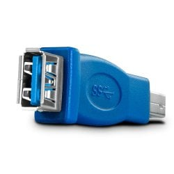 USB 3.0 Adapter, USB A Female to B Male