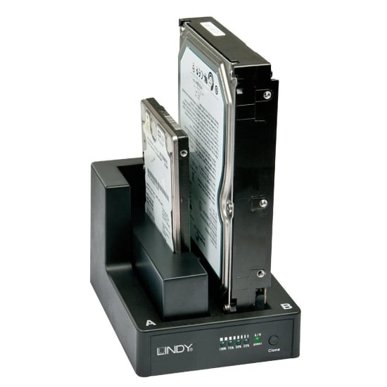 "USB 3.0 Docking & Cloning Station For 2.5"" & 3.5"" Drives"
