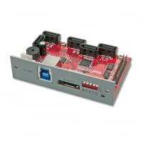 USB 3.0 & eSATA to 5 SATA Port Multiplier & RAID Adapter