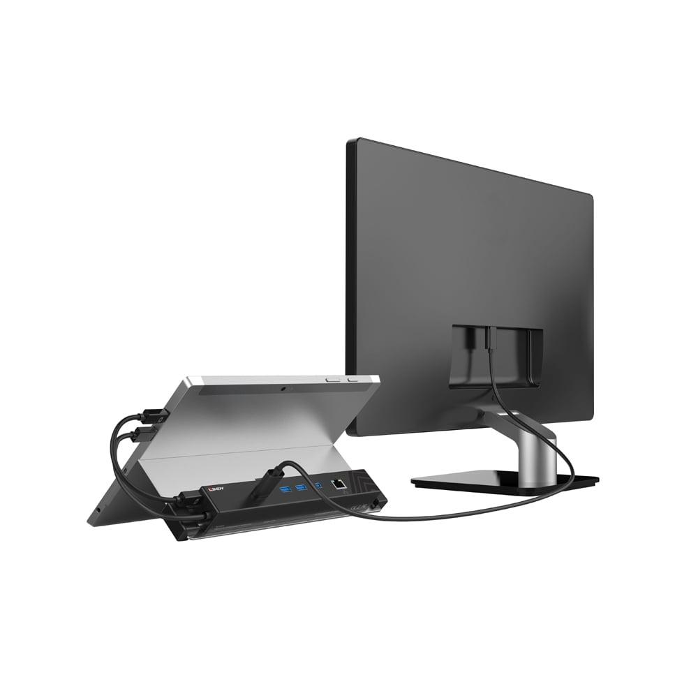 usb 3 1 mini displayport tablet docking station from lindy uk. Black Bedroom Furniture Sets. Home Design Ideas