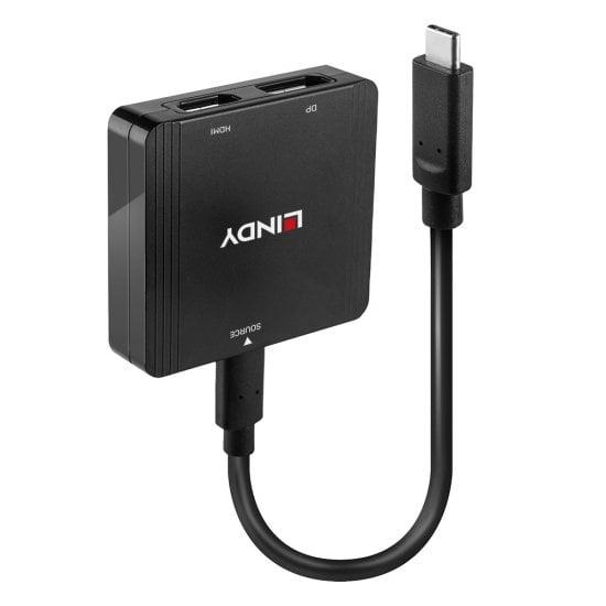 USB Type C to Dual Display Converter, MST Hub