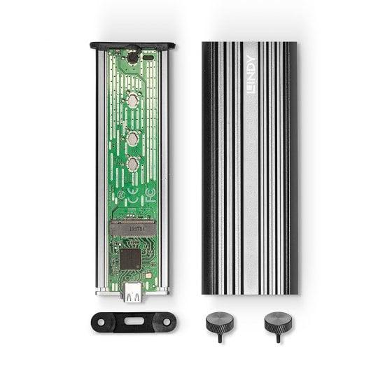 USB 3.2 Gen 2 x2 NVMe M.2 SSD Enclosure