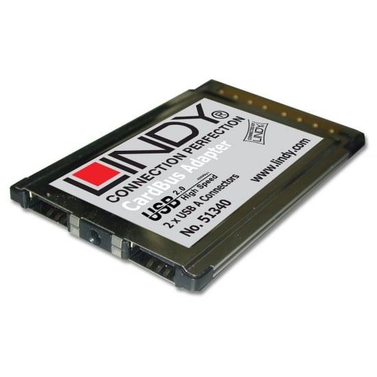 USB Card - 2 Port USB 2.0, CardBus (32 Bit)