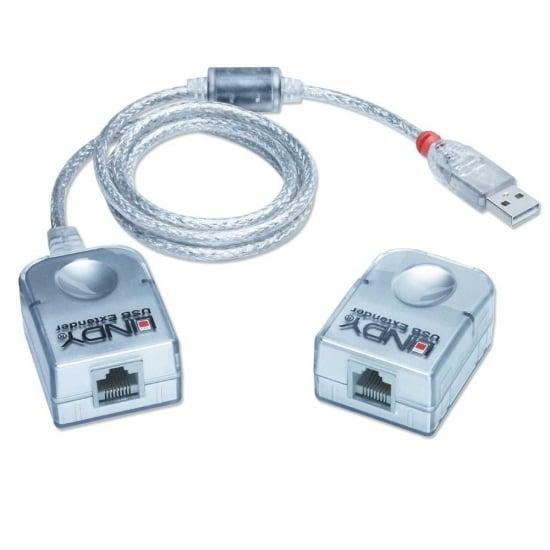 USB Extension - CAT5 USB Extender Premium (Up to 50m)