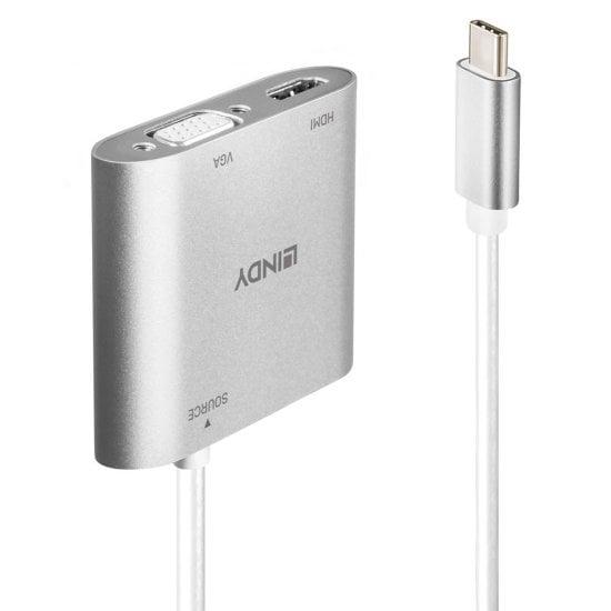USB Type C to Dual Display Converter