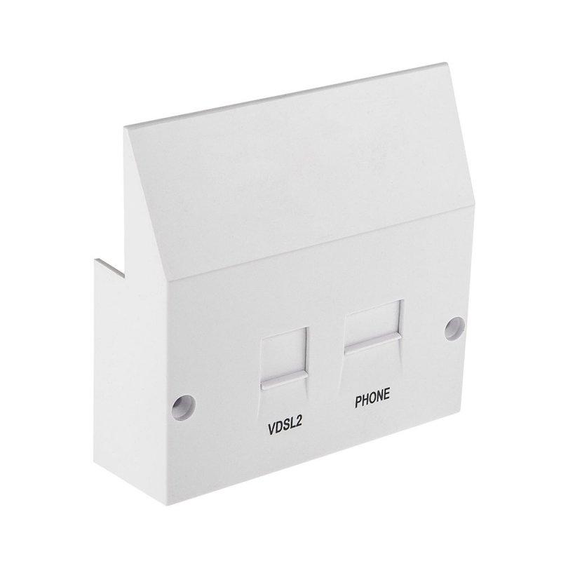 VDSL2 Microfilter Faceplate