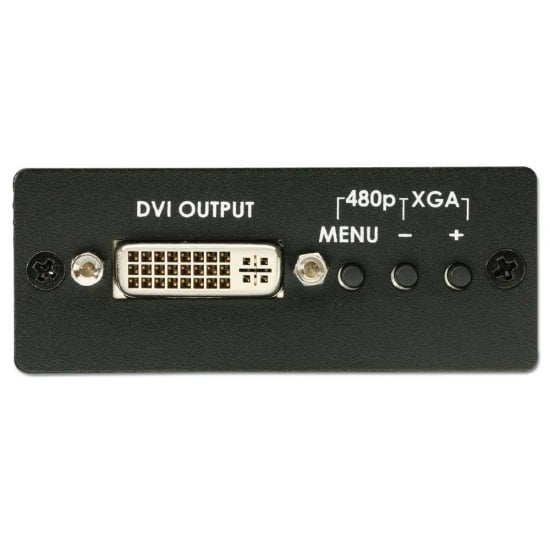 VGA / Component Video to DVI-I Converter