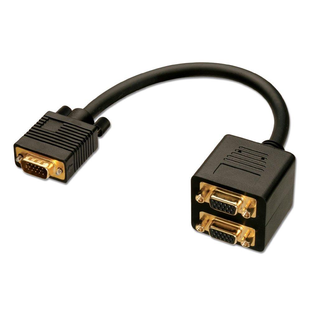 Cable Tv Splitter : Black box vga splitter free engine image for user