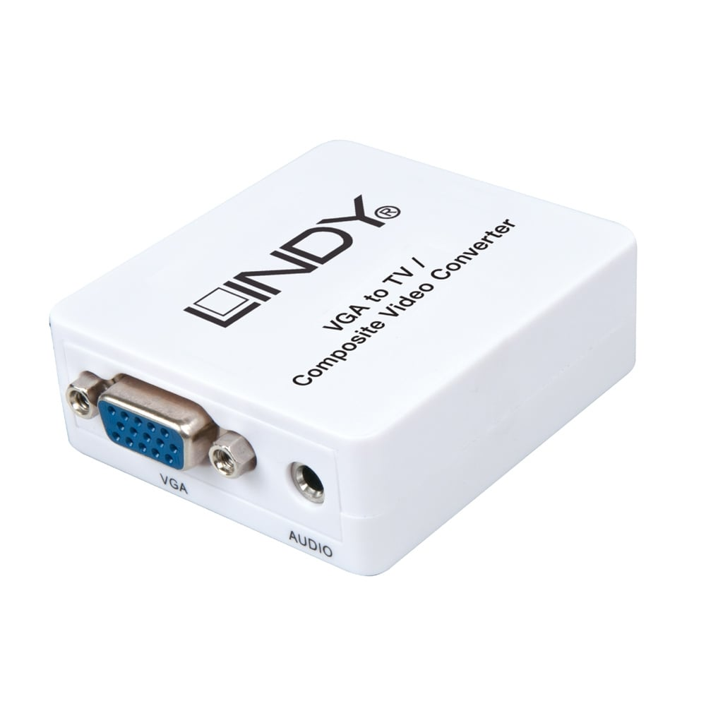Composite Component S Video Bnc Extenders From Lindy Uk Vga To Adapter Tv Converter Lite